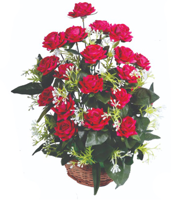 artificial-flower-wholesaler-ring-basket